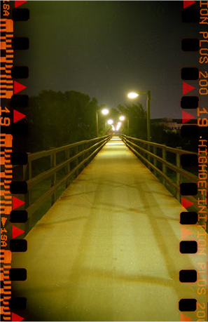 Illuminated Crossing photo